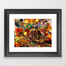 The last universe Framed Art Print