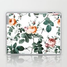 Floral and Winged Darter Laptop & iPad Skin