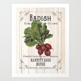 Organic Seeds 3 Art Print