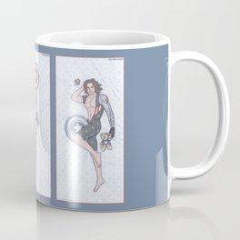 Superhero Pinup Trio (Stark Spangled Winter) Coffee Mug