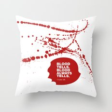 Dexter no.1 Throw Pillow