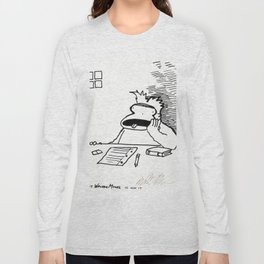 Ape is Slack-Jawed with Over-Study Long Sleeve T-shirt
