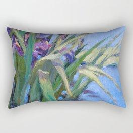 Sun Day—Iris Rectangular Pillow