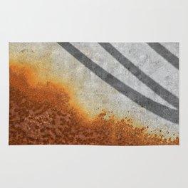 Rust Abstract I Rug
