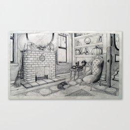 Witches Den Canvas Print