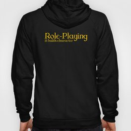d20 Role-Playing Builds Character Hoody