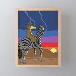 Bandana Madlib Gibbs Quas Framed Mini Art Print