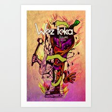 OLD HAGG - Wezteka Union Art Print
