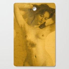 Nude Art Gold Cutting Board