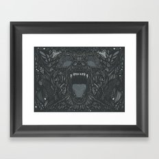 Formosan Black Bear  Framed Art Print