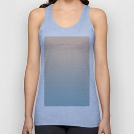 HALF MOON - Minimal Plain Soft Mood Color Blend Prints Unisex Tank Top