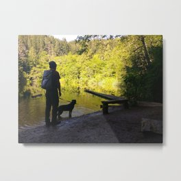 Fragrance Lake Metal Print