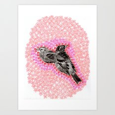 mother bird Art Print