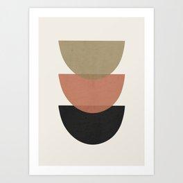 Minimal Abstract Art 22 Art Print