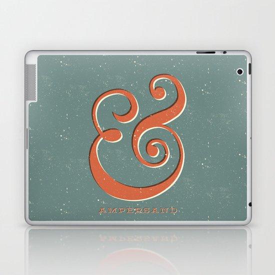 Ampersand Laptop & iPad Skin