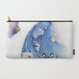 Lady Winter / Dame Hiver Carry-All Pouch