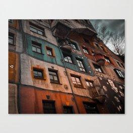 Hundertwasser museum Canvas Print