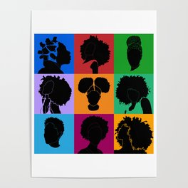 FOR COLORED GIRLS COLLECTION COLLAGE Poster