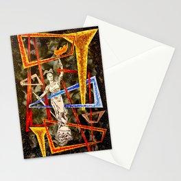 Monumental geometric Stationery Cards