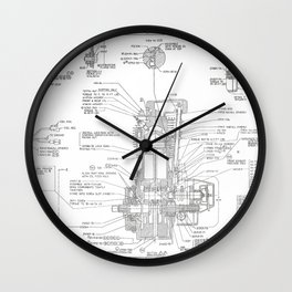 From the old garage 3 Wall Clock