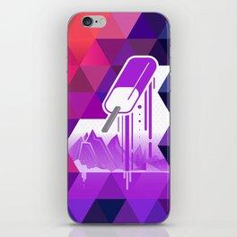 Grape Popsicle iPhone Skin