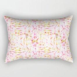 Summer Vibes Tie Dye in Bouquet Rectangular Pillow