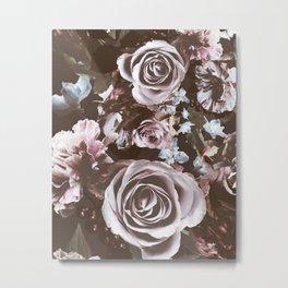 Rustic Roses Metal Print