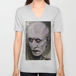 Orlok the Loathsome Unisex V-Neck