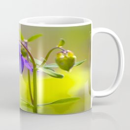 Purple Columbine In Spring Mood Coffee Mug