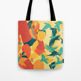 And A Little Girl Who Only Wished To Fly Tote Bag