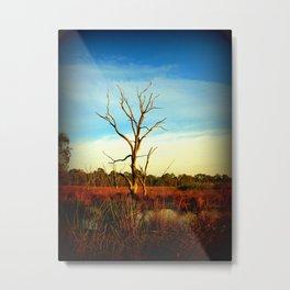 Cockatoo Tree Metal Print