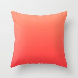 Tangerine Gradient Throw Pillow