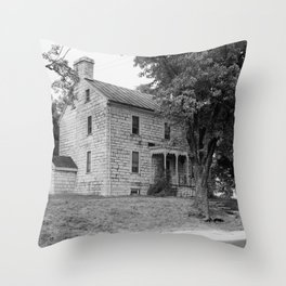 Old Stone Shop, Pleasant Hill (Shakertown) Throw Pillow