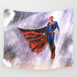 super man Wall Tapestry
