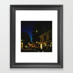 Paris by Night V Framed Art Print