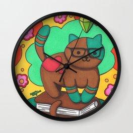 Neko Atsume Hipster Planner Sims Plumbob Cat Wall Clock