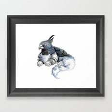 Little Gryphon Framed Art Print