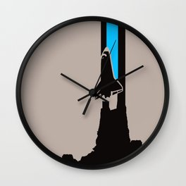 Launch me - The Final Flight of the Space Shuttle Wall Clock