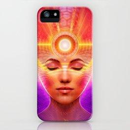 Mind Molecular Congruence iPhone Case