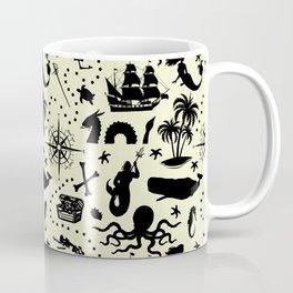 High Seas Adventure // Yellow Coffee Mug