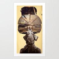 lama Art Prints featuring Lama by Ira Carter