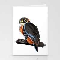 falcon Stationery Cards featuring Falcon by Gracie Illustration