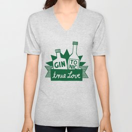 Gin Tonic True Love Unisex V-Neck