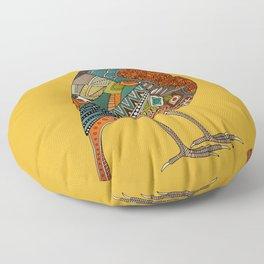 robin gold Floor Pillow