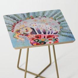 Xmas Guinea Pig Side Table