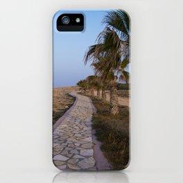 A Path Along the Sea iPhone Case