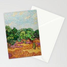 Vincent Van Gogh - Olive Trees Stationery Cards