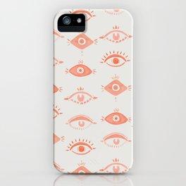 Many Eyes iPhone Case