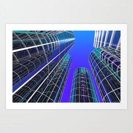 look into the sky -2- Art Print