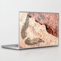 angel wings Laptop & iPad Skins featuring Angel wings by Dominique Gwerder